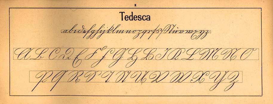 Grafologia e architettura pensieri sul corsivo nicol di toma - Diversi caratteri di scrittura ...
